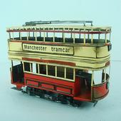 《Jayland》1903紅曼徹斯特電車1:36規格28.5(L)