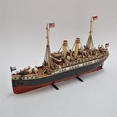 《Jayland》1915 MARKLIN 德國小船1:20 規格(37(L))