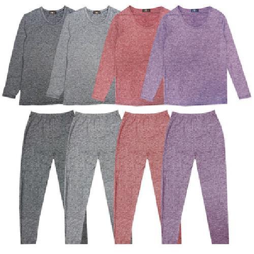 陽離子拉毛女保暖褲-顏色隨機(M)