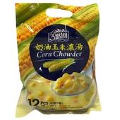 《3點1刻》濃湯-18g×12包/袋(奶油玉米)