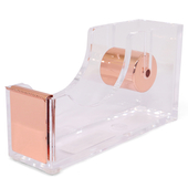 《Novella Amante》透明壓克力膠帶座--玫瑰金(12x3.5x6.5cm)