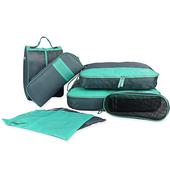 商務型旅行收納7件組-顏色隨機(13.5X7.5X31cm)