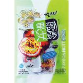 《吃果籽》果汁蒟蒻 26*12入/袋(百香果)