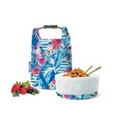 《Roll'eat》西班牙桶裝食物袋15X15X27cm藍格 $560