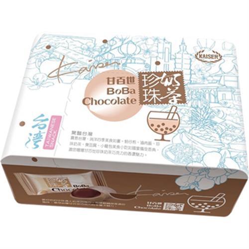 甘百世 珍珠奶茶巧克力(70g/盒)