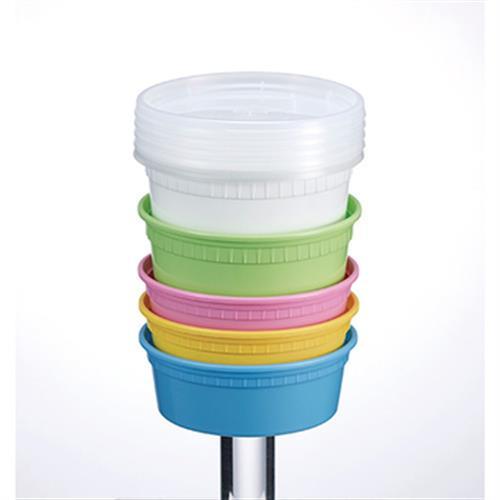 《極鮮》遠紅外線保鮮湯杯五入組-顏色隨機出貨(950ml/700ml/450ml/360ml/240ml)