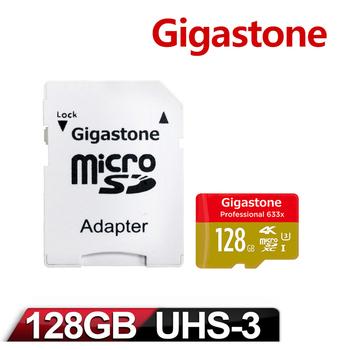 《Gigastone》Gigastone 立達國際 Micro SDXC UHS-1 U3 128GB 記憶卡(128GBU3)