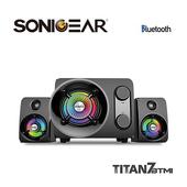 《SonicGear》Titan7泰坦星七號2.1聲道 幻彩藍芽無線多媒體音箱