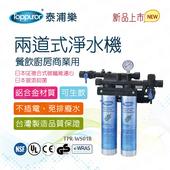 《【Toppuror 泰浦樂】》商用兩道餐飲廚房淨水機(TPR-WS01B)
