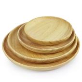 櫸木圓平盤