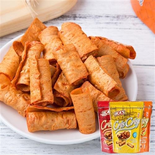 《馬來西亞 Ika's》手工香脆魚卷-55g/袋(原味)