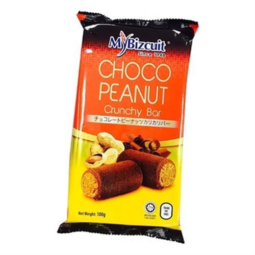 《麥比客》花生捲-100g±10%/包(巧克力)