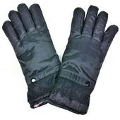 女用防風防潑水保暖加厚手套(黑)