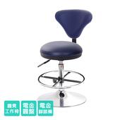 《GXG》GXG 醫療級 圓凳加椅背 吧檯椅 (喇叭座+踏圈款)  TW-81T2K(請備註顏色)