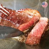 《欣明生鮮》美國藍絲帶極黑紐約克牛排(200公克±10% /1片)(*1片)