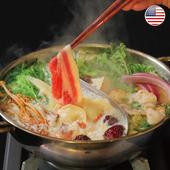 《欣明生鮮》美國安格斯黑牛雪花牛火鍋肉片(500公克±10% /盒)(*1包)