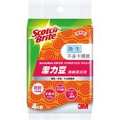 Scotch-Brite潔力豆海綿菜瓜布