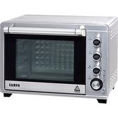 《聲寶》38L 電子雙溫控旋風油切烤箱 KZ-TA38F