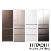《HITACHI 日立》607公升六門電冰箱-RHW610JJRHW610JJ-XW 琉璃白 $78093