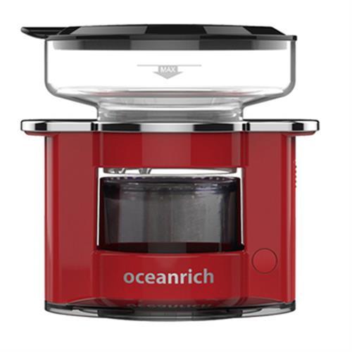 Oceanrich 單杯旋轉萃取咖啡機S2 - 119X101X120mm(紅)