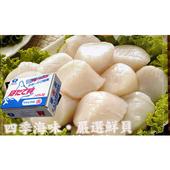 《海洋先生》日本進口生食級干貝(進口盒裝 (4S)51~60顆/盒)