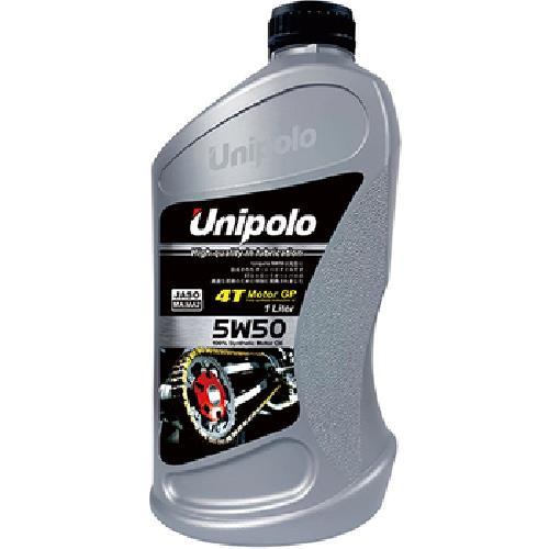 《Unipolo》5W50 4T 全合成機油(1L/SL MA MA2)