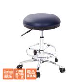 《GXG》醫療級 圓凳 吧檯椅 (電金踏圈+防刮輪) TW-81T1LUXK(請備註規格)