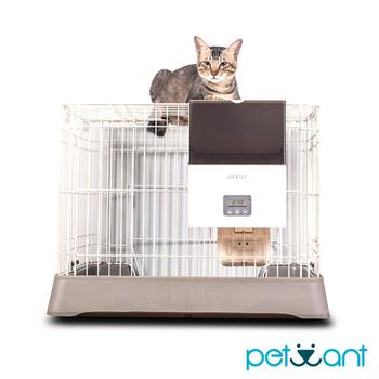 ★結帳現折★《PETWANT》籠子專用寵物自動餵食器 F4 LCD(不含籠子)