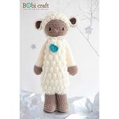 《Bobi》勾針娃娃-綿羊騎士-波比-Little Knight Poppy(30(H) /WT-212CRE-M-M)