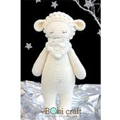 《Bobi》綿羊芭芭拉-Barbra  Softie(38(H) /WT-126WHI-F-L)