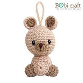 《Bobi》勾針娃娃-卡羅吊飾-Karo Ornament(10(H) /WT-140BEI-S)