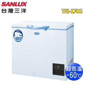 《SANLUX 台灣三洋》170L超低溫-60度C冷凍櫃TFS-170G(含拆箱定位)