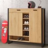 《Homelike》貝森4尺鞋櫃
