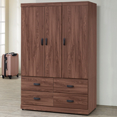 《Homelike》達倫4x6衣櫃