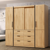 《Homelike》貝森7x7尺衣櫃