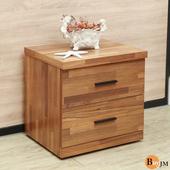 《BuyJM》香格里拉拼接木紋床頭櫃/收納櫃(木紋色)