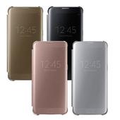 《SAMSUNG 三星》GALAXY S7 (G930) Clean View 原廠全透視皮套(黑)