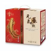 《李時珍》元氣活蔘飲(50mlx12瓶/盒)