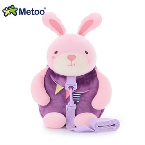 《Metoo》牽引繩 防走失兒童背包 27*25*12cm(兔子)