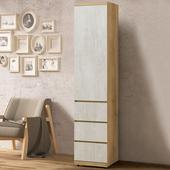 《Homelike》格蕾1.5尺三抽衣櫃