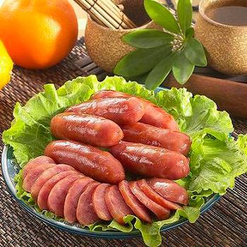 《正味馨》紅麴香腸(紹興-600g±3%/包)