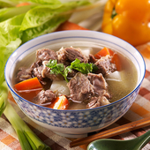 《史家庄》清燉牛肉湯900g(固體300g)/包