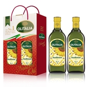 《奧利塔》葵花油1L雙入組1Lx2瓶/盒 $385