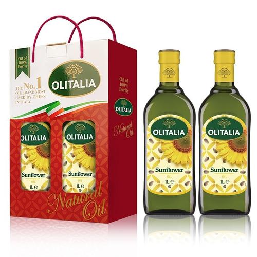 《奧利塔》葵花油1L雙入組(1Lx2瓶/盒)