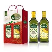 《奧利塔》葵花油橄欖油1L雙入組(1Lx2瓶/盒)