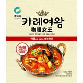 《韓國清淨園》咖哩女王-108g/包(微辣海鮮咖哩)