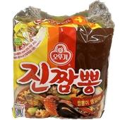 《即期2019.06.08 韓國不倒翁 OTTOGI》金螃蟹海鮮拉麵4包入(130gX4包/袋)