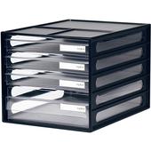 《樹德》四層資料櫃 DD-1213(A4)(顏色隨機出貨)