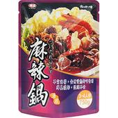 《味王》湯底-750g/袋(麻辣)
