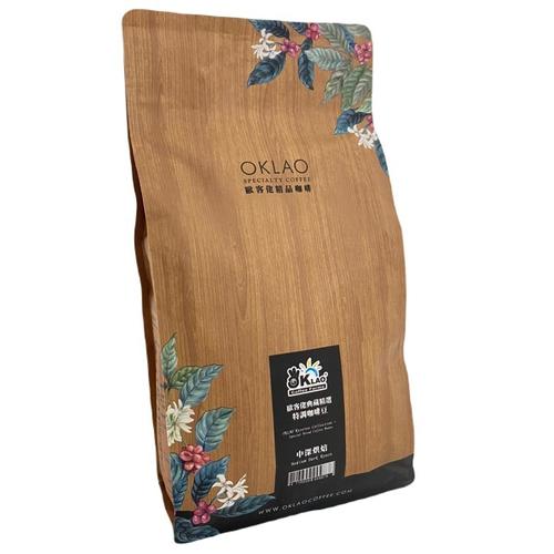 《歐客佬oklao》典藏精選特調咖啡豆(450g/包)